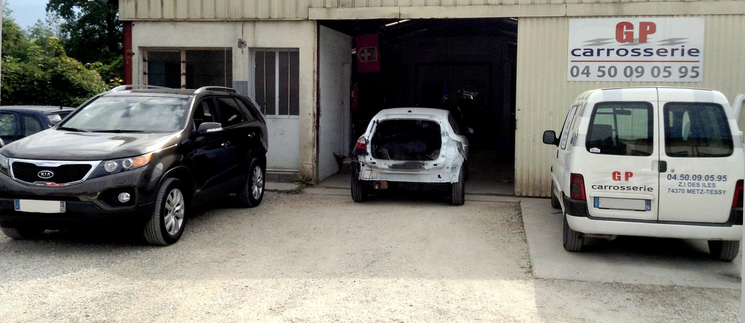 Réparation de son véhicule abimé à Metz-Tessy