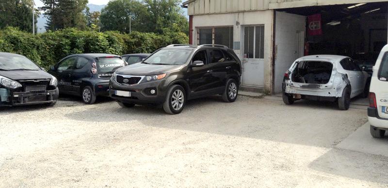 Gp carrosserie r paration toutes assurances metz tessy for Garage carrosserie depannage 64